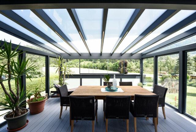 Sommergarten - Alu-Glas Sommergärten von Leeb